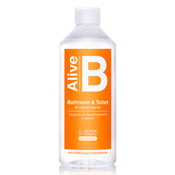 Alive B Средство для ванной комнаты и туалета (Alive B Bathroom & Toilet)