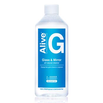 Alive G Средство для стекол и зеркал (Alive G Glass & Mirror cleaner)