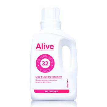 Alive Концентрированное жидкое средство для стирки (Alive Liquid laundry detergent)