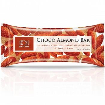 Батончик «Шоко с миндалем» (Choco Almond Bar)