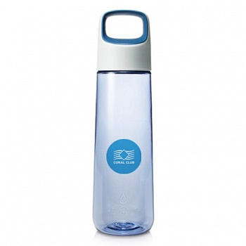 Бутылка для воды Coral Bottle Aura 750 голубая (Coral Water Bottle Delta 750 Aura, Blue)
