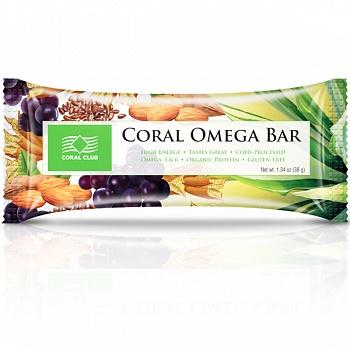 Батончик «Корал Омега Бар» (Coral Omega Bar)