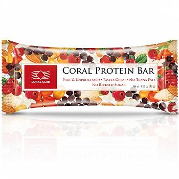 Батончик «Корал Протеин Бар» (Coral Protein Bar)