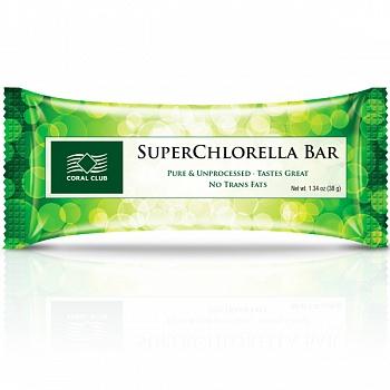 Батончик «СуперХлорелла Бар» (SuperChlorella Bar)