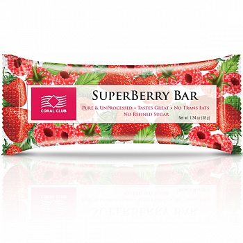 Батончик «СуперБерри Бар» (SuperBerry Bar)