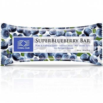 Батончик «СуперБлуберри Бар» (SuperBlueberry Bar)