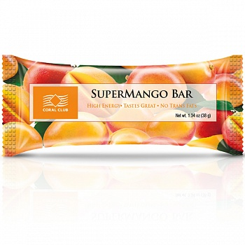 Батончик «СуперМанго Бар» (SuperMango Bar)